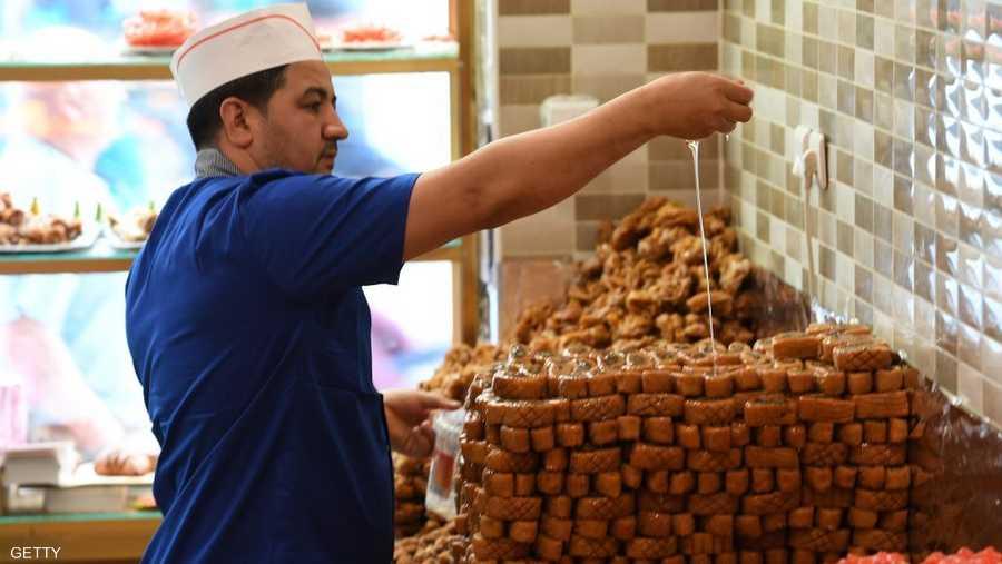 حلوى رمضان وصلت فرنسا