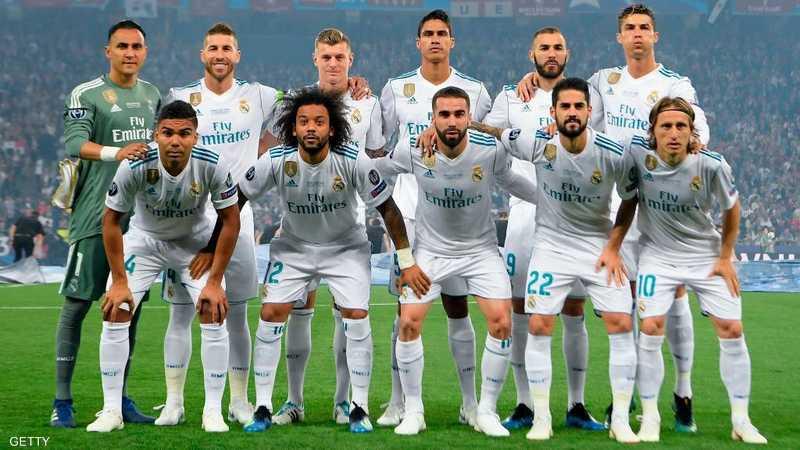 صورة ريال مدريد العجيبة تحير عالم كرة القدم أخبار سكاي نيوز عربية