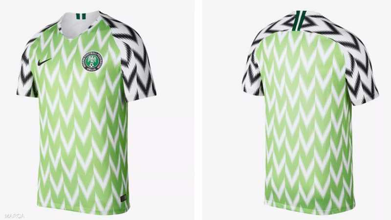 قميص نيجيريا الجديد