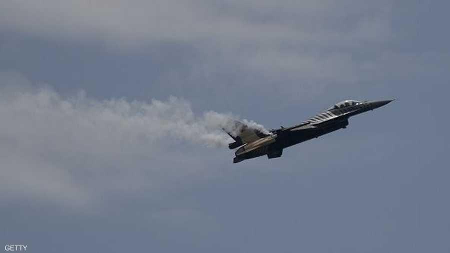 طائرة تركية من طراز F-16