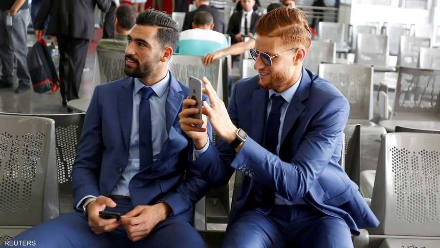 لاعبو تونس متفائلون قبل منافسات المونديال