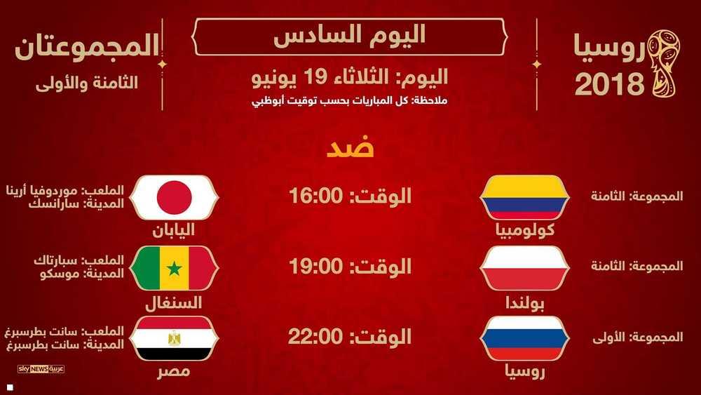 ثاني مباريات مصر
