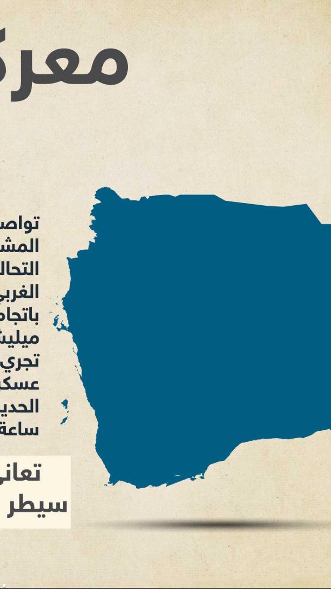 يتسارع تقدم قوات المقاومة اليمنية في الحديدة