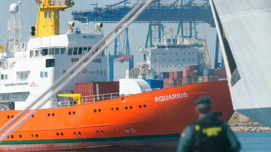 السفينة صارت رمزا لفشل أوروبا بالتعامل مع المهاجرين