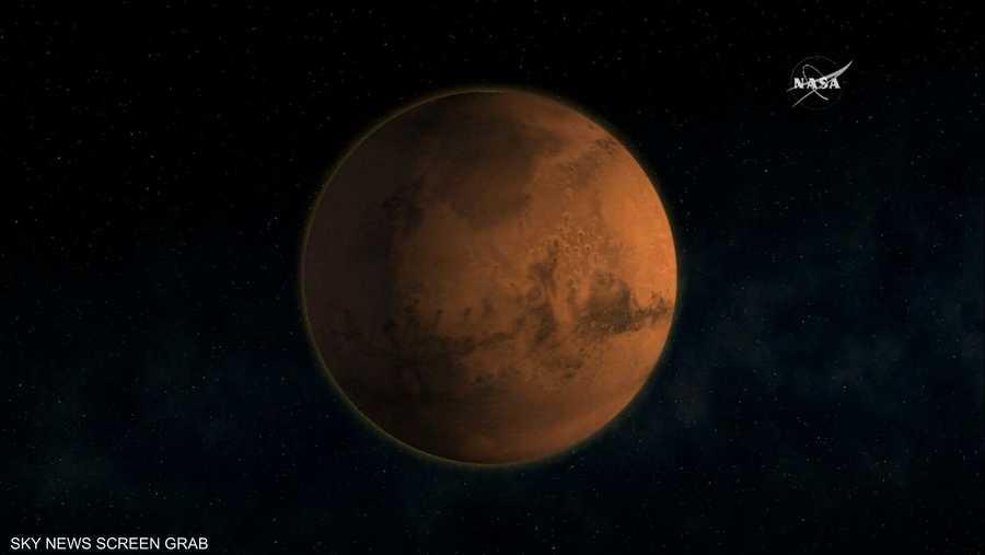 31 يوليو.. اقتراب المريخ من الأرض