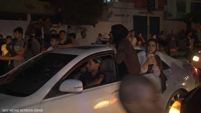 أهالي درنة يخرجون للشوارع احتفالا بتطهيرها من الإرهاب