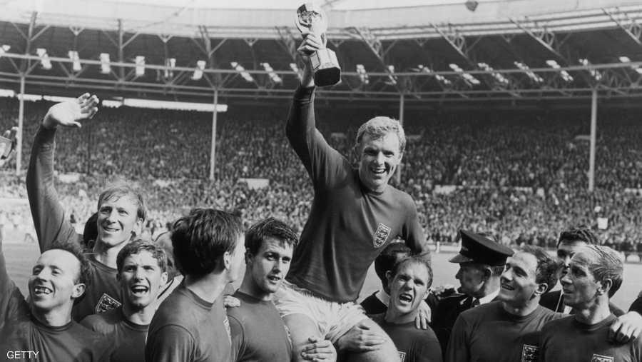 أبطال إنجلترا في 1966