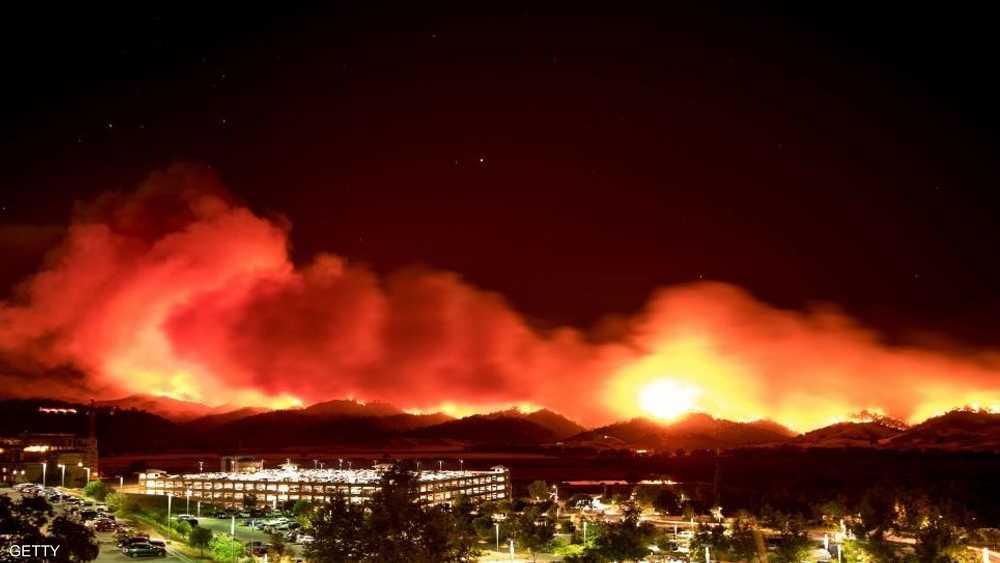 بديسمبر دمر حريق سانتا باربرا أكثر من 1000مبنى