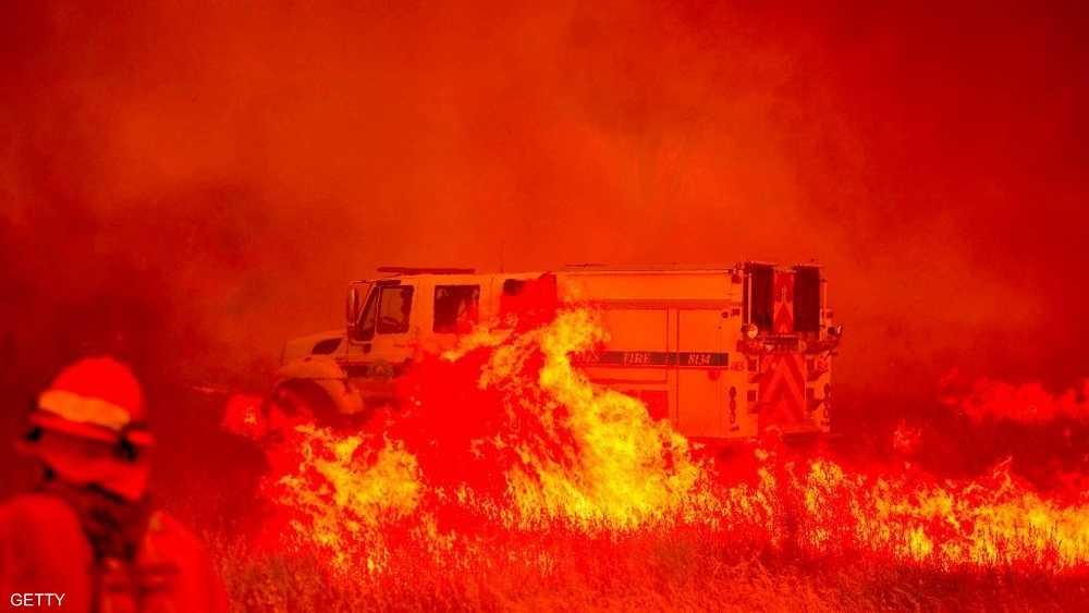 أسفرت حرائق اندلعت بأكتوبر عن مصرع 40 وتدمير 99 ألف هكتار