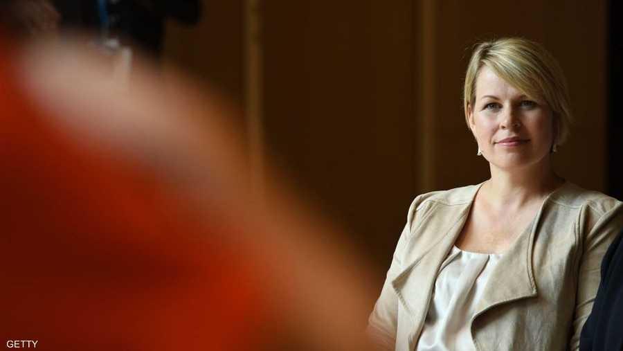 زوجة رئيس وزراء استونيا حضرت القمة