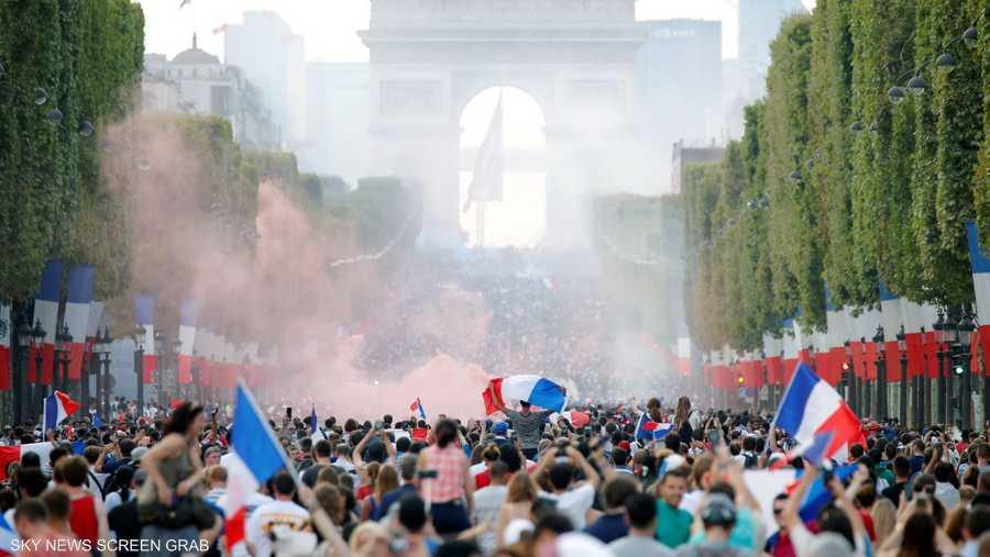 باريس بعد النصر المذهل