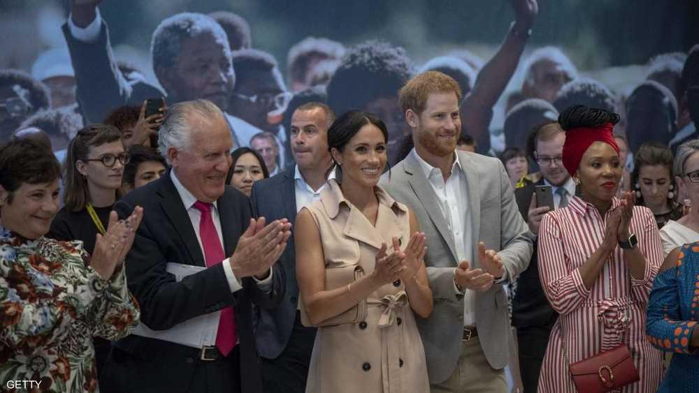 الأمير هاري وزوجته ميغان كان من بين الحضور