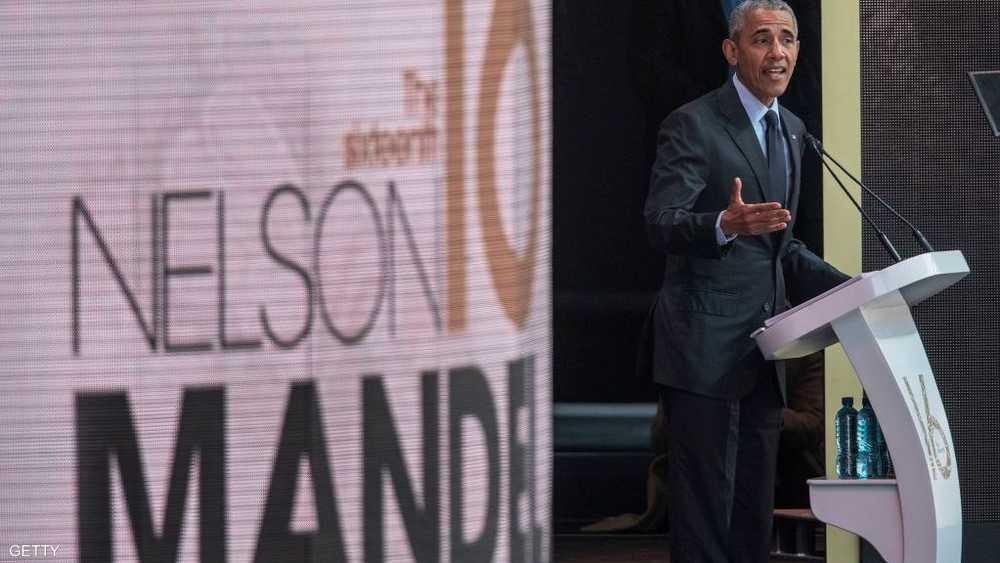 الرئيس الأميركي السابق كان من أبرز من حضروا الاحتفالية