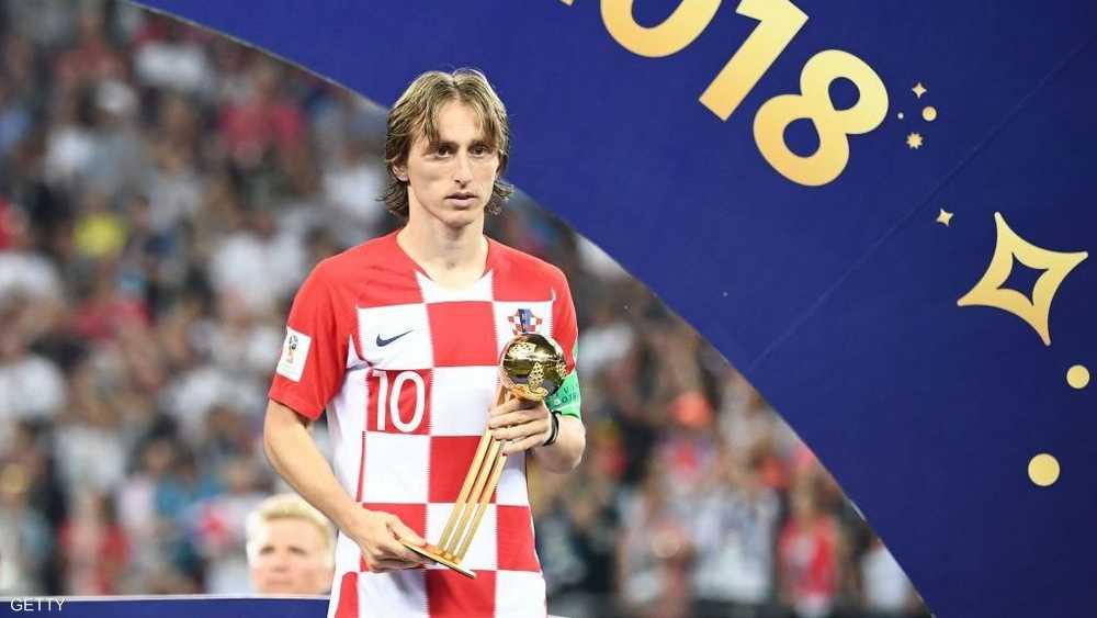 أفضل لاعب في المونديال لوكا مودريتش مرشح رئيسي