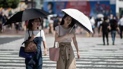 موجة حر قياسية تقتل عشرات اليابانيين