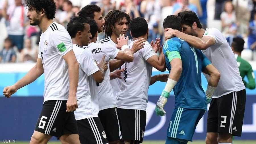 منتخب مصر حقق نتائج متواضعة بالمونديال