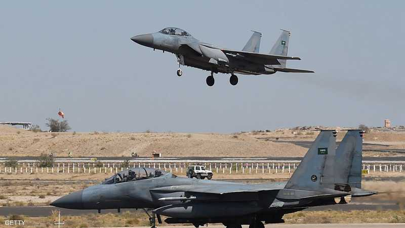 مقاتلات التحالف العربي في لقطة أرشيفية