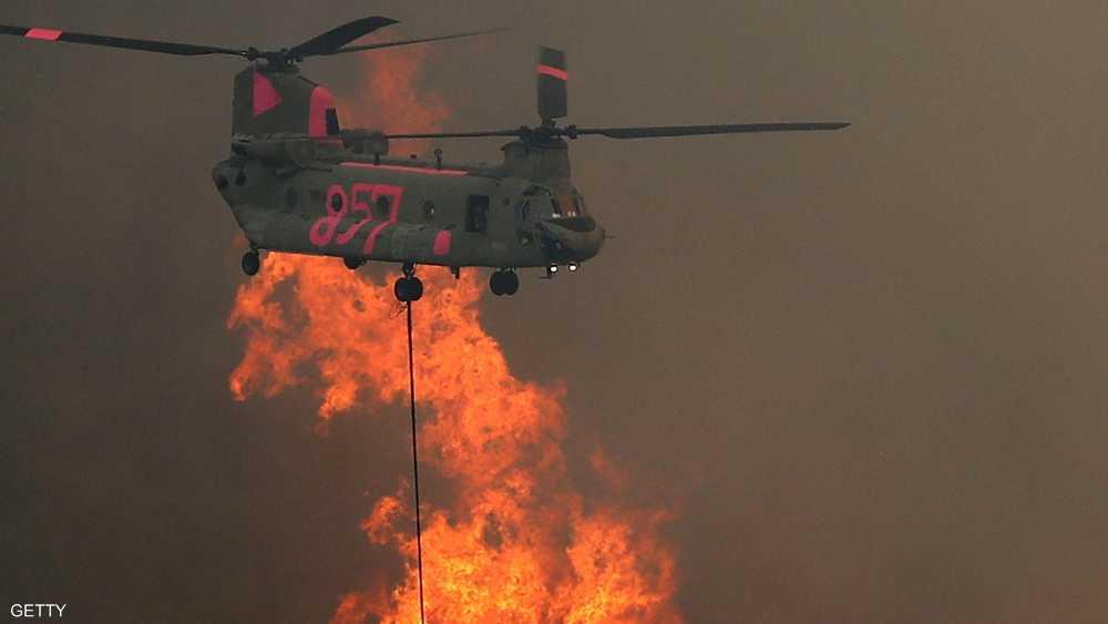 الرياح العاتية حولت النيران إلى إعصار ملتهب اجتاح ريدينغ