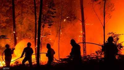 انحسار الموجة الحارة الأوروبية عن مركزها والحرائق مستمرة