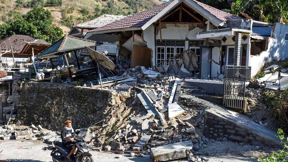 دمار واسع لحق بالمناطق القريبة من مركز الزلزال
