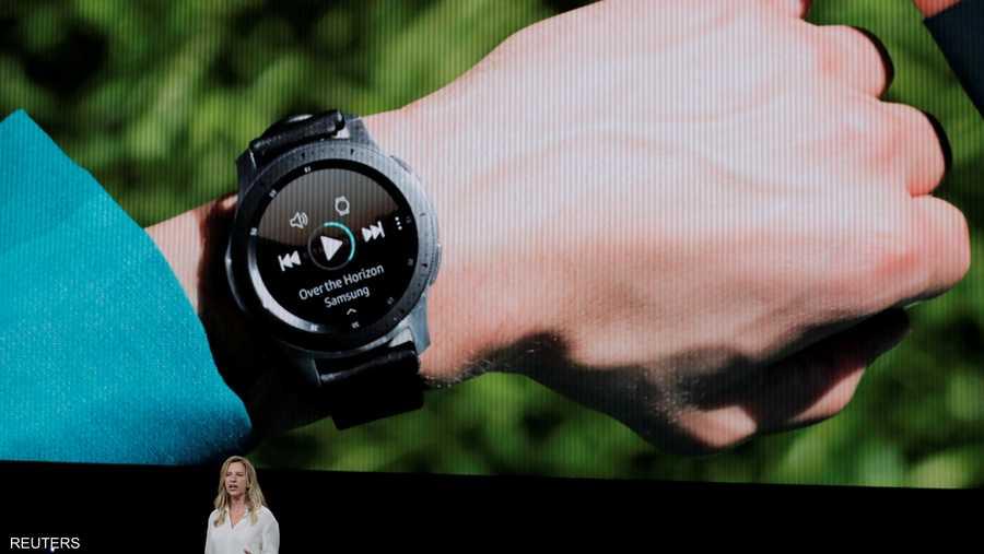 سامسونغ كسفت عن ساعة ذكية جديدة