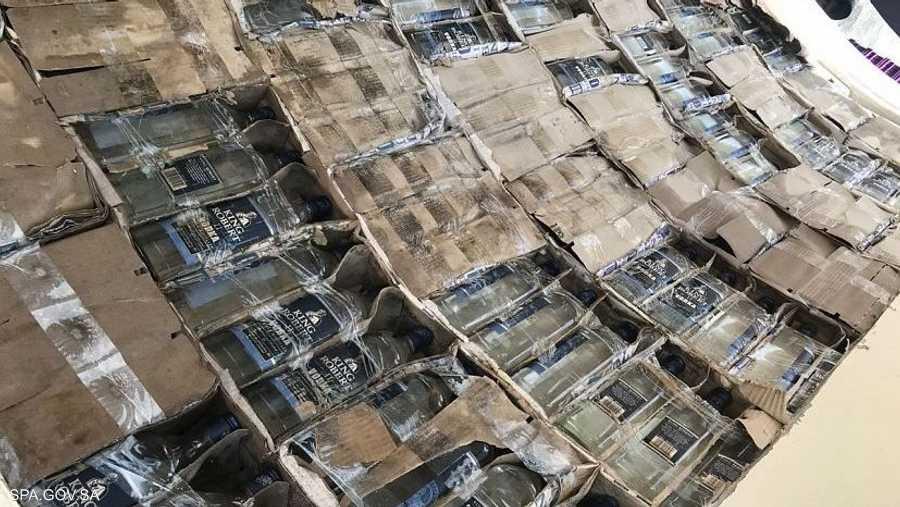 السلطات أحبطت تهريب أكثر من 9 آلاف زجاجة