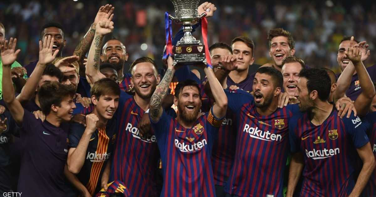 Messi crowned his first title as the leader of Barcelona