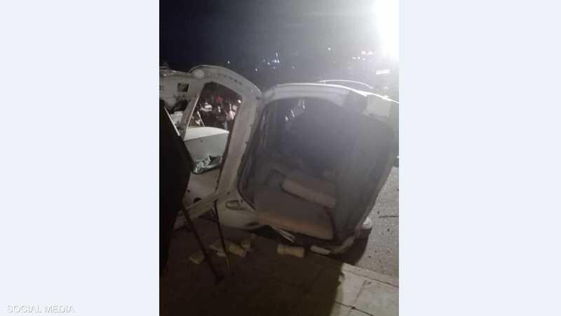 صورة أخرى للحادث