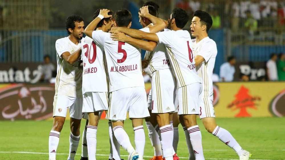 الوحدة يتوج بكأس السوبر الإماراتى