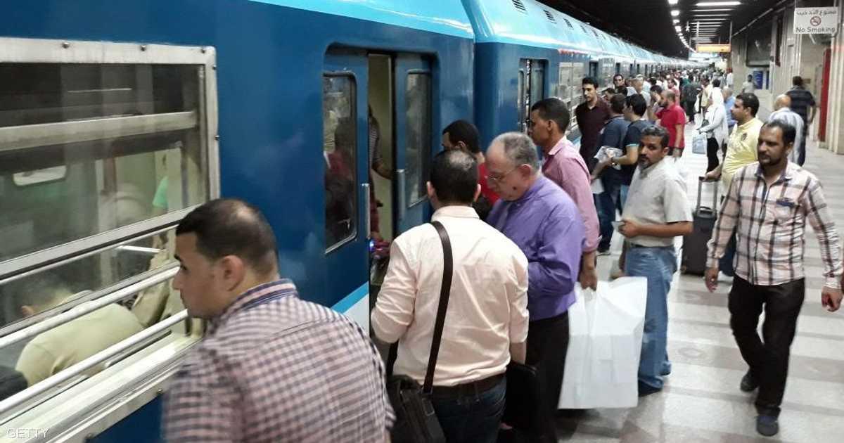 مصر ترفع أسعار تذاكر الخط الثالث لمترو الأنفاق