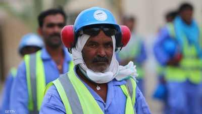 """تقرير دولي: عمال مونديال قطر بلا أجور لأشهر و""""تحت التهديد"""""""
