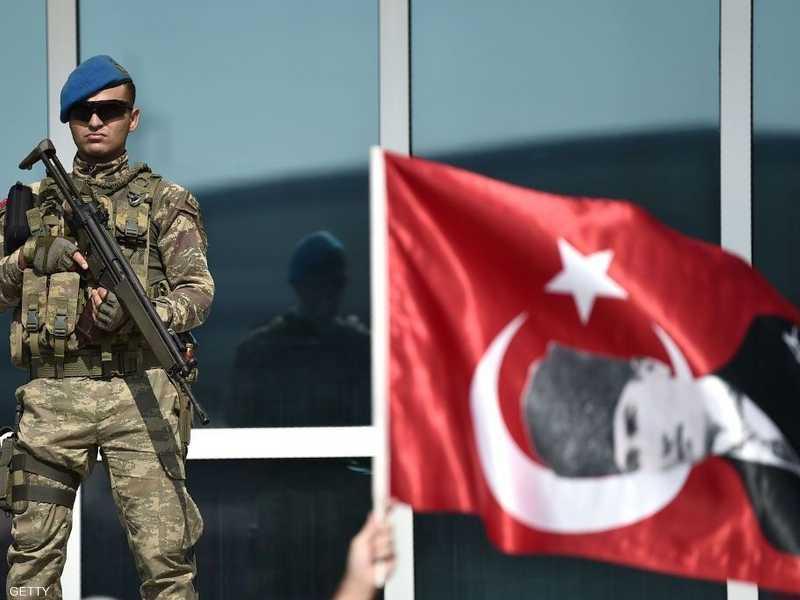 علم تركيا - أرشيفية