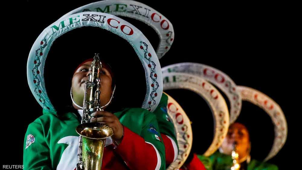 هنا عرض من المكسيك