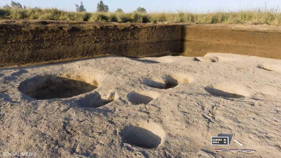 القرية المكتشفة تعود للعصر الحجري الحديث