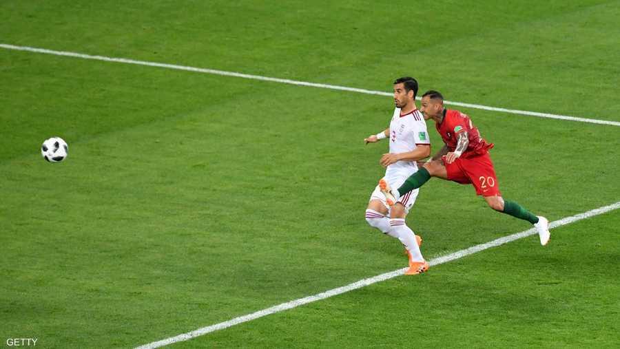 هدف البرتغالي كواريزما بخارج القدم في إيران.. علامة مسجلة
