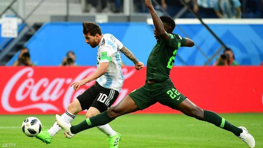 """""""اللمسة والإنهاء""""،هدف ميسي الرائع بمرمى نيجيريا في المونديال"""