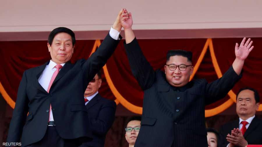 حضر الزعيم كيم جونغ أون العرض لكنه لم يخاطب الحضور