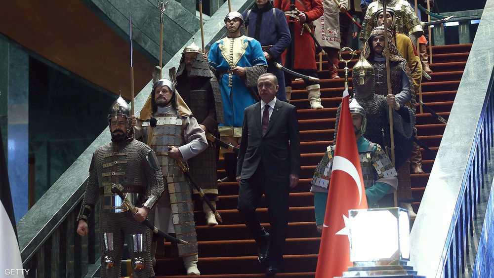 أردوغان بلقطة أرشيفية