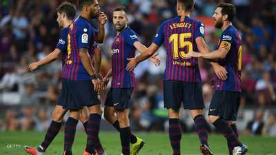 برشلونة يتخلى عن