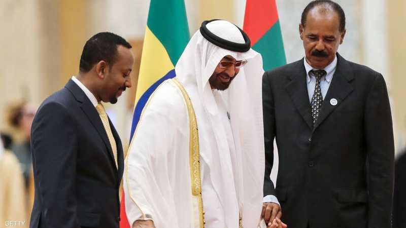 الشيخ محمد بن زايد في قمة السلام