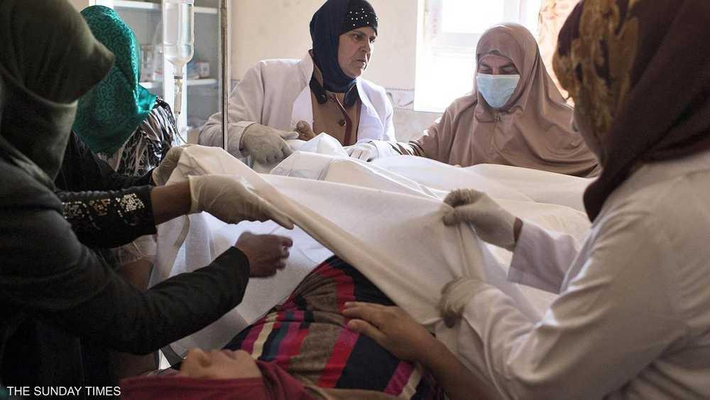 الرعاية الطبية عادت عقب رحيل داعش