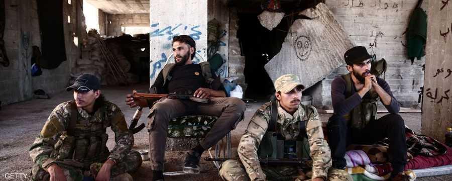 مسلحو المعارضة السورية. أرشيف