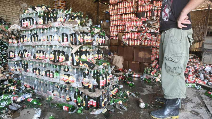 جماعات متشددة استهدفت متاجر الخمور