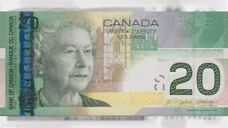 20 دولار من كندا