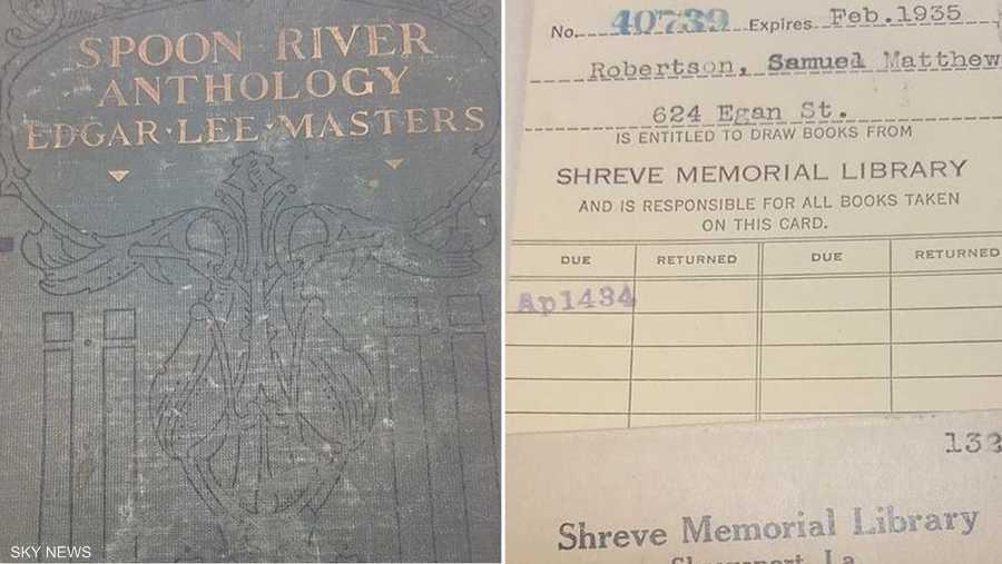 إعادة كتاب إلى مكتبة بعد 84 عاما على استعارته