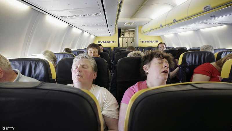 النوم قد يكون إحدى وسائل الركاب