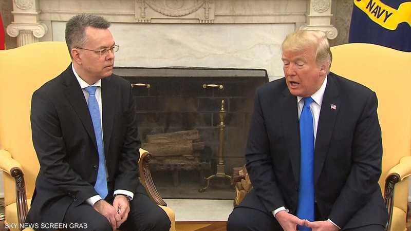 ترامب يلتقي القس الأميركي بعد إطلاق سراحه من تركيا 1-1190699.jpg