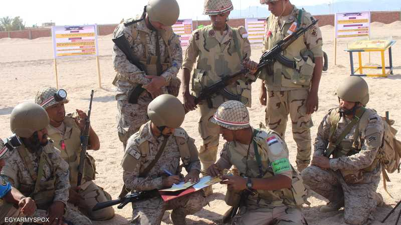 """""""تبوك 4"""".. تدريبات عسكرية مصرية سعودية مشتركة 1-1190734.jpg"""
