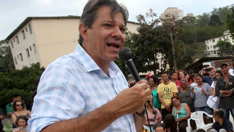 eca4b12bc6273 فرناندو حداد المرشح عن حزب العمال في انتخابات البرازيل