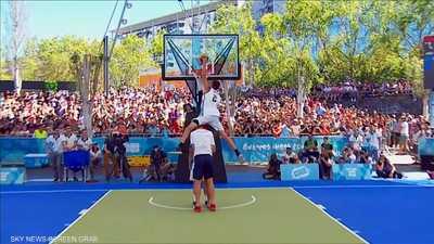 الأرجنتين تتوشح الذهب في تغميس الكرة